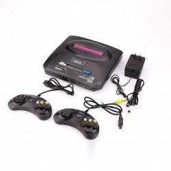 Consola com 5 jogos de 16 Bits compatível Sega Mega Drive 2