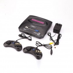Consola com 368 jogos de 16 Bits compatível Sega Mega Drive 2