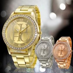 Relógio de senhora Carolina Herrera CH em metal