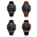 Relógio MiGeer desportivo bracelete pele