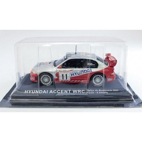 Hyundai Accent WRC Rally Monte Carlo 2003