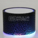 Coluna de som com Bluetooth e luz