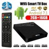 TV Box Android W95 4K 2Gb Ram 16Gb Rom