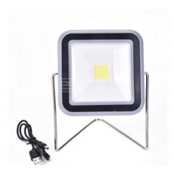 Lanterna Projetor Solar Recarregável 10W