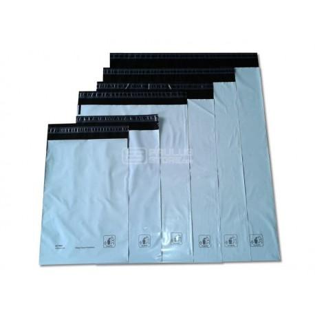 Envelopes de plástico tipo saco com fecho em autocolante