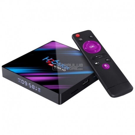 Tv Box H96 Max 2 GB / 16 GB Android 9 Android TV