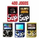 Consola Portátil com 400 Jogos Retro