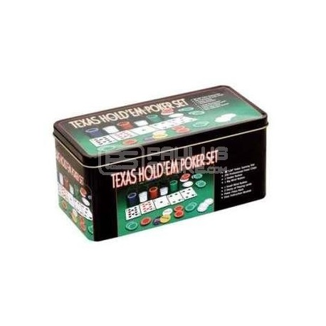 Conjunto de Poker - 200 fichas