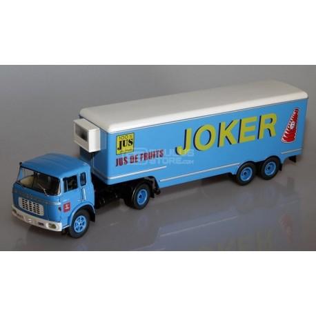 Miniatura de camião Berliet TR 12 de 1964 cor azul