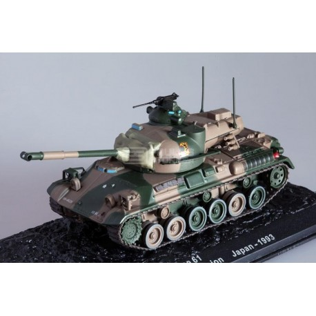 Carro de Combate TYPE 61 – Japan 1993, 10st Tank Battalion 8th Division