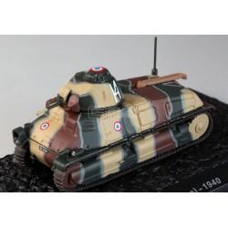 Carro de Combate SOMUA S35 – 1ere DLM, Saint-Ouen, França 1940