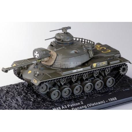 Carro de Combate M48 A3 PATTON 2, 1st Tank Battalion USMC, Danang, Vietnam 1968