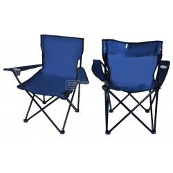Cadeira de pesca  dobrável azul 8002