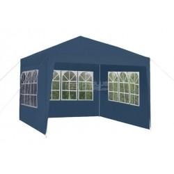 Tenda de jardim Toldo em Azul com 3 paredes 3x3m