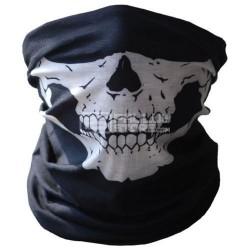 Lenço balaclava máscara militar caveira motard