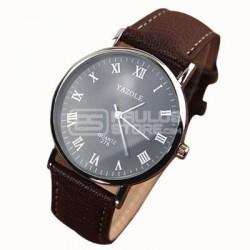 Relógio Yazole castanho