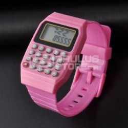 Relógio calculadora criança