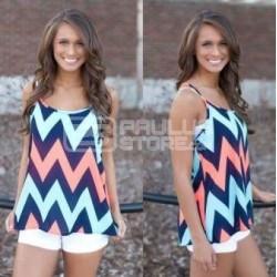 Top blusa de alças para senhora tamanho XL