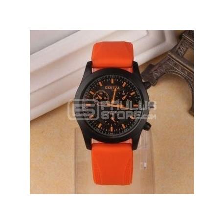 Relógio Geneva Laranja