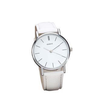 ad9a573b690 Relógio Geneve clássico branco - Paulus Store