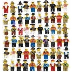 5 Mini figuras compatíveis com Lego