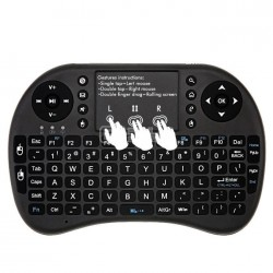 Teclado e Rato Wireless 2.4G Qwerty Android Smart TV PC Xbox