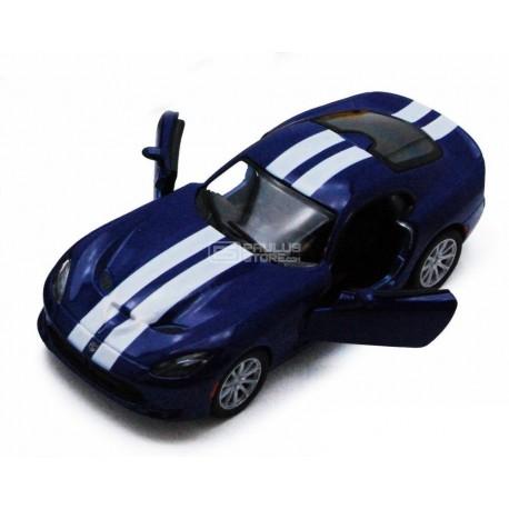 Miniatura Kinsmart 1:36 Diecast 2013 SRT Viper GTS Azul