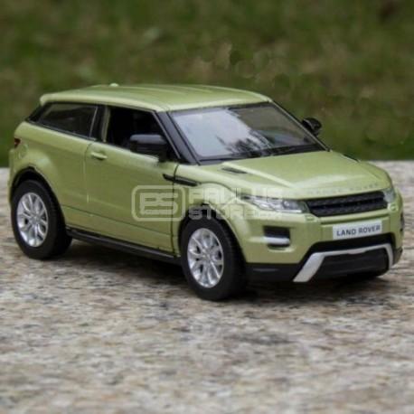 Miniatura Range Rover Evoque Land Rover Verde