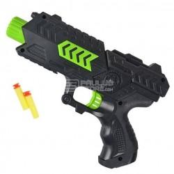 Pistola de balas de água e balas tipo Nerf