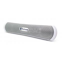 """Barra de Som """"SOUNDBAR"""" 2.1 6W Bluetooth (Cinza) - BIWOND"""