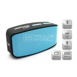Coluna SoundPlay Wild Bluetooth Negro Biwond