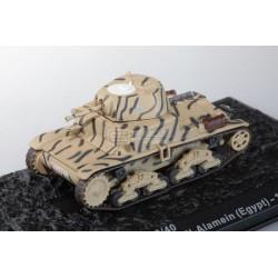 Carro de Combate M13-40 Divisione Corazzata Littorio, El-Alamein, Egipto 1942
