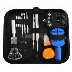 Kit de ferramentas de reparo de relojoeiro 13 peças