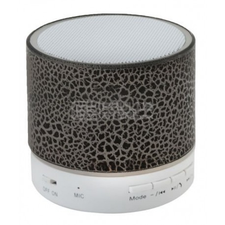 Coluna Bluetooth Rádio MP3 usb Microfone micro SD com luz