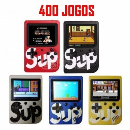 Consola SUP Portátil com comando 400 Jogos Retro