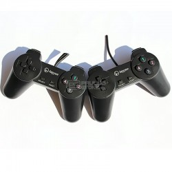 Comando duplo Lanjue L300S PC Joystick Gamepad Usb