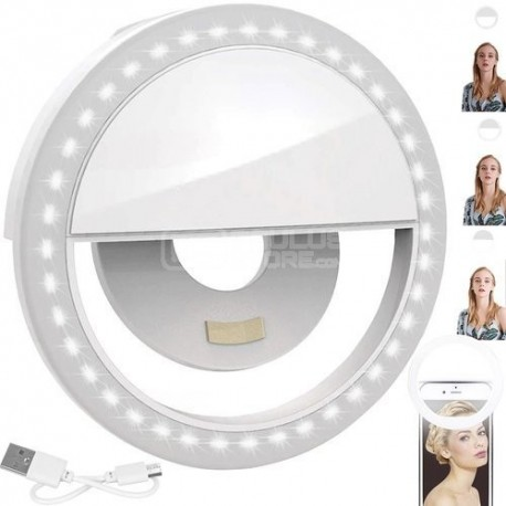 Anel de luz led para selfie Ring Light