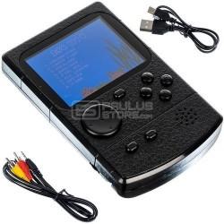 Consola portátil com 256 jogos retro