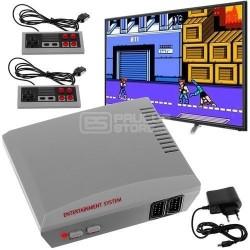 Consola de TV com 256 jogos + 2 comandos