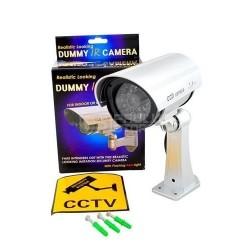 Camera falsa dummy com luz led vermelho