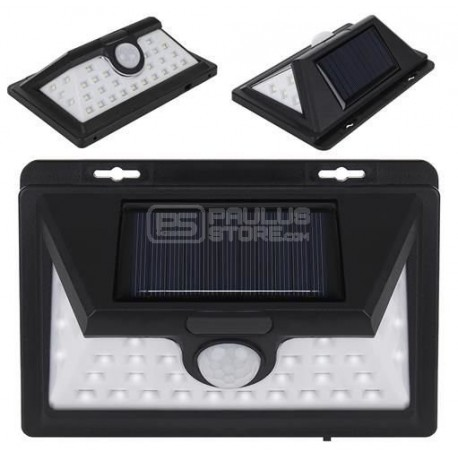 Candeeiro Luz solar LED Sensor de movimento para exterior