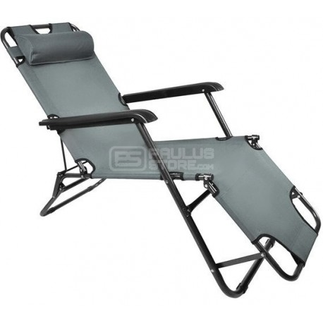 Espreguiçadeira cadeira dobrável de praia campismo jardim