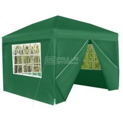 Tenda de jardim Toldo com 3 paredes e porta 3x3m