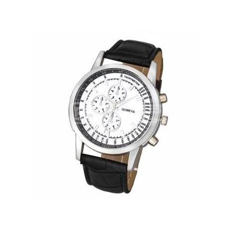 Relógio Geneva clássico branco