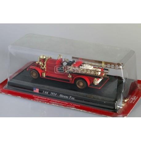Miniatura carro bombeiros Ahrens Fox Americano de 1924