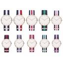 Relógios estilo Daniel Wellington